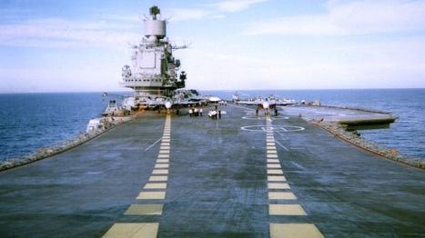 Rusia tiene en la actualidad solo un portaaviones, de los seis o siete que llegó a tener en la era soviética.