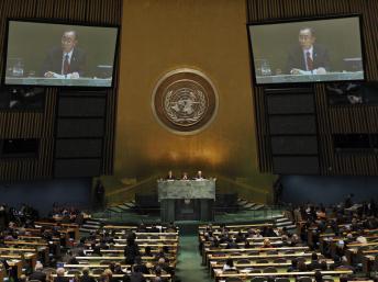 La Asamblea General de la ONU aprueba resolución contra el referéndum de Crimea.