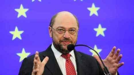 El presidente del Parlamento Europeo, Martin Schulz, confirma divisiones hacia el interior de la Unión Europea y no asegura nada a Kiev.