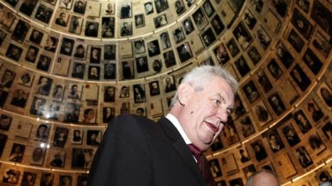 Milos Zeman, presidente de la República Checa. Foto: © AFP Gali Tibbon