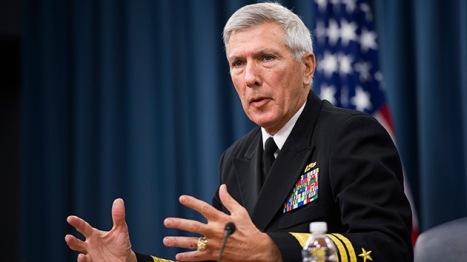 almirante Samuel Locklear, máximo responsable del Comando Asia-Pacífico de EE.UU. Foto: AFP Jim Watson.