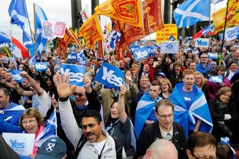 Escocia tiene programado su propio referémdun. © AFP Andy Buchanan
