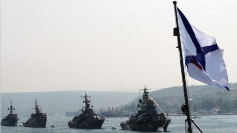 EE.UU. y la OTAN estaban fuertemente interesados en establecer bases navales en Crimea. Foto:  AFP Vasiliy Batanov.