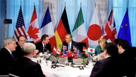 El Grupo de los Siete (G-7) declara su apoyo a Kiev en la cuestión de Crimea.