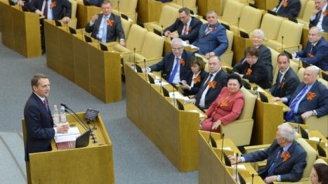Los parlamentarios rusos no ceden al chataje occidental.  Foto: © RIA Novosti Vladimir Fedorenko.