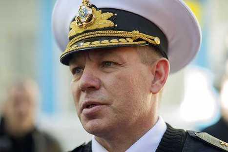 contraalmirante Serguéi Gaiduk.