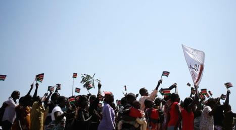 Washington aplaudió el nacimiento de Sudán del Sur. © REUTERS Goran Tomasevic.
