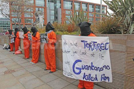 En todo el mundo protestan contra ese centro de tortura del ejército de EE.UU.