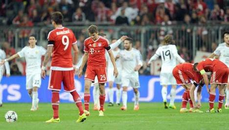 Bayern Munich a manos d en la vuelta de las semifinales de la Liga
