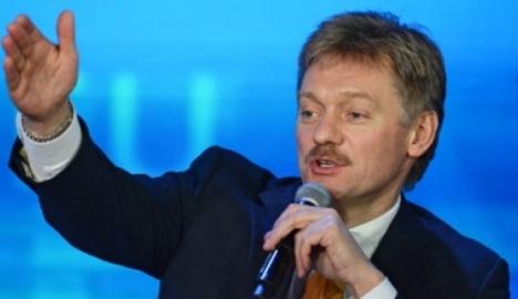 Dmitri Peskov, portavoz del presidente ruso, Vladímir Putin.