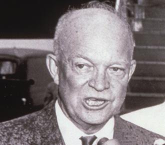 El presidente Dwight Eisenhower aprobó el plan Puto de la CIA. Foto: Archivo.
