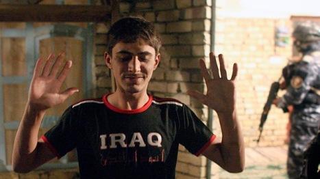 Redada efectuada por soldados estadounidenses en la localidad de Baquba, a 65 kilómetros al noreste de Bagdad, octubre 2008. Foto: REUTERS Goran Tomasevi.