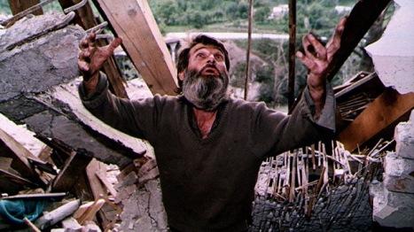 Bombardeos de la OTAN a serbios de Bosnia. Foto: REUTERS