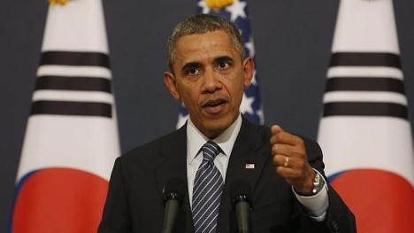 Obama amenaza a Rusia con más sanciones desde Seú, Sudcorea. Foto: Reuters.