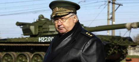 Un oficial ruso, en Crimea. Foto: REUTERS
