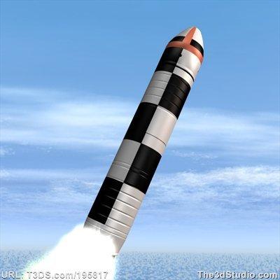 El temible misil Bulava, de emplazamiento en submarinos rusos.