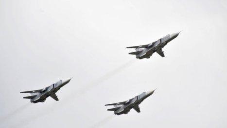 Los bombarderos Su-24
