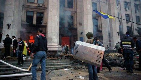 La Fiscalía de Ucrania informa sobre 46 muertos en Odessa Foto: © REUTERS/ Gleb Garanich.