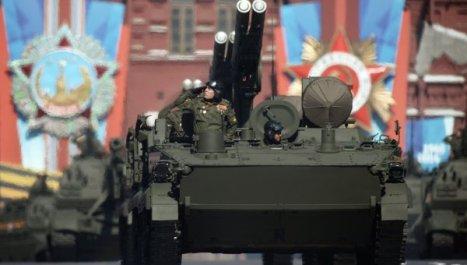 Modernas unidades blindadas en el tradicional desfile de la Plaza Roja. Foto: © RIA Novosti. Grigory Sysoev.