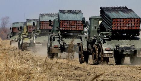 El gobierno de facto de Ucrania amenaza al Este rusoparlante con armas de precisión. Masacre a la vista.