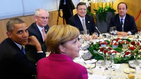 El escuálido Grupo de los 7 (G-7) intentando dictar al mundo sus deseos imperiales.  ¿Tienen derecho? ¡No! Foto: © REUTERS Yves Herman.