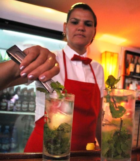 El mojito también está entre los cócteles más demandados en el Floridita.
