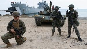 EE.UU. sigue fomentando su presencia militar cerca del gigante asiático. Foto: Reuters.
